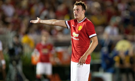 Manchester United's Phil Jones back in training but unlikely to face Liverpool