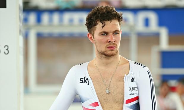 Owain Doull cyclist