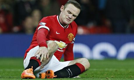 Manchester United's Wayne Rooney set for scan on injured knee