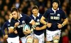 Scotland's Ryan Wilson runs with the ball