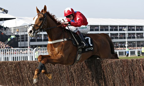 Jamie Moore riding Sire De Grugy clear