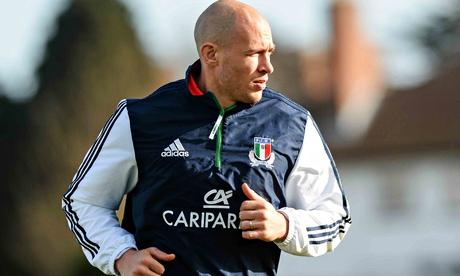Italy Sergio Parisse, Italy captain, Six Nations