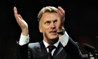 David Moyes, the Manchester United, enjoys some much-needed respite at Old Trafford.