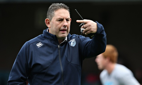Phil Davies has resigned as Cardiff Blues director of rugby with immediate effect