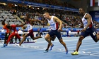 Richard Kilty claims shock 60m gold at world indoor championships