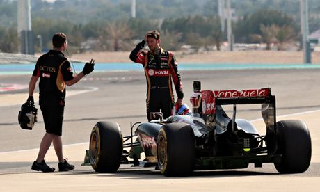 Romain Grosjean reveals Lotus had struggled to pay him until now