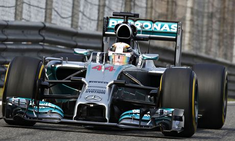 Lewis Hamilton fights rising excitement at runaway Mercedes