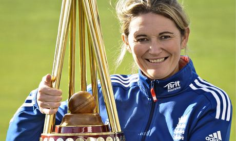 Charlotte Edwards, captain of England's women's team