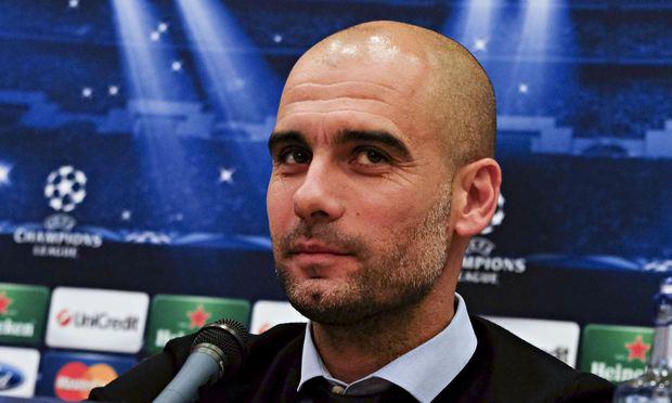 Spanish Trainer Bayern Munich Pep Guardi