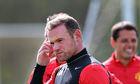Manchester United's Wayne Rooney is back in training and eager to play against Bayern Munich.