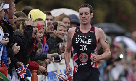 Alistair Brownlee during last September's World Triathlon Grand Final at Hyde Park