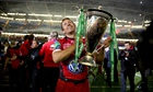 Jonny Wilkinson with the Heineken Cup
