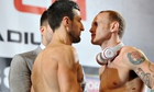 Froch Groves weigh in