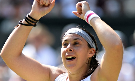 Marion Bartoli, retired Wimbledon champion