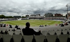 Lord's. The final day of the first England v Sri Lanka Test