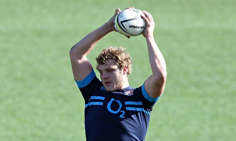 Joe Launchbury will replace Geoff Parling in England's side to face New Zealand in Hamilton