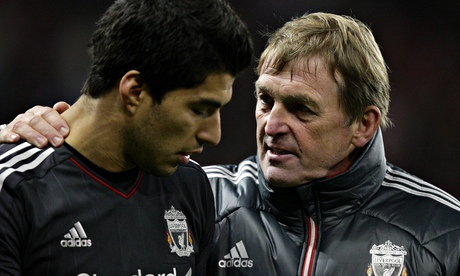 Kenny Dalglish and Luis Suarez