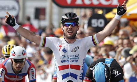 Omega Pharma-Quick Step's Mark Cavendish