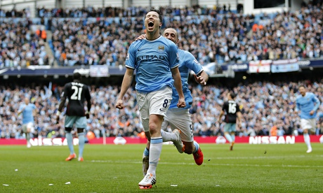 Samir Nasri signs new five-year contract with Manchester City