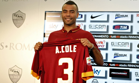 Ashley Cole pleased to be out of comfort zone after joining Roma