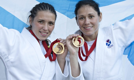 Sisters Kimberley and Louise Renicks start Scotland gold rush in judo