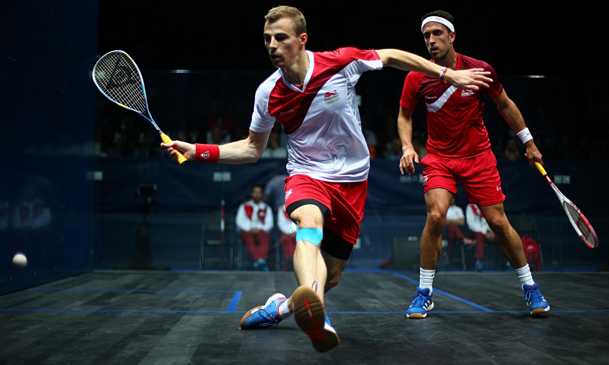 Squash sport wallpaper