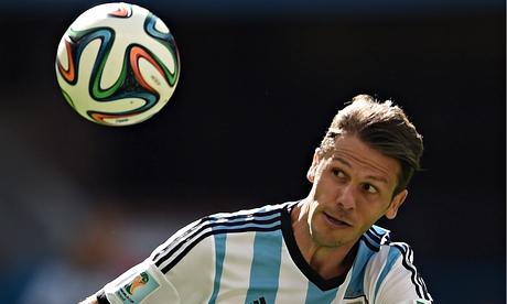 Martín Demichelis helped provide a platform for Lionel Messi to torment Belgium.