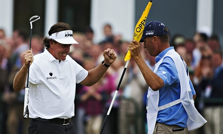 Phil Mickelson Golf The Open 2013
