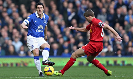 Gareth Barry signs three-year deal to join Everton