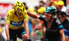 Chris Froome Richie Porte Tour de France