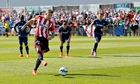 Connor Wickham scores a penalty during Sunderland's recent pre-season friendly against Udinese
