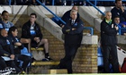 Alan Pardew watches on as Newcastle beat Gillingham in the League Cup in midweek.