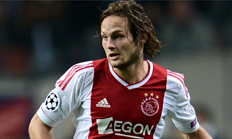 Ajax confirm the transfer of Daley Blind to Manchester United