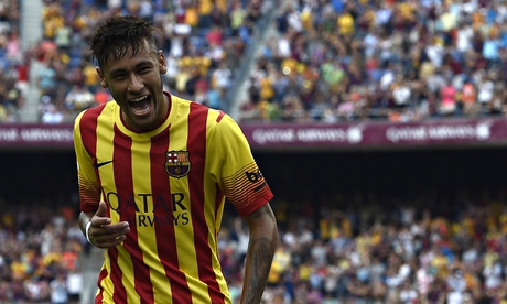 [VIDEO] Fantastic Neymar Scores Two Classy Goals Against Bilbao. See Highlights