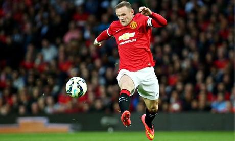 Louis van Gaal: Wayne Rooney to play in midfield for Manchester United