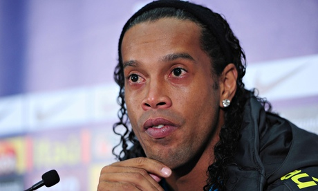 Conference South side Basingstoke Town have made an ambitious bid to sign the Brazilian Ronaldinho.