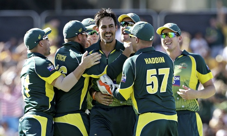 England blown away in Tri-Series final as Mitchell Johnson shines