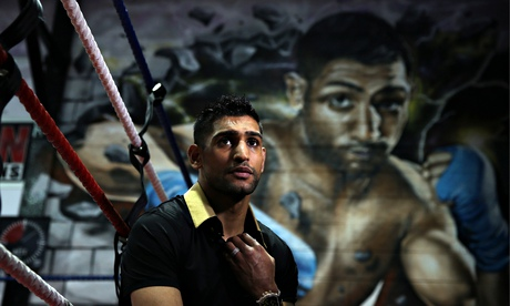 Amir Khan 'would love' to fight Kell Brook but tells him to get in line