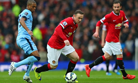 Wayne Rooney says Manchester United targeted City's lazy runners