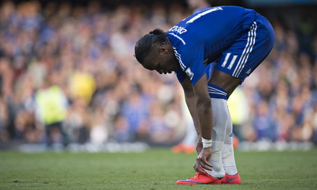 Chelsea facing striker shortage as Didier Drogba suffers ankle injury