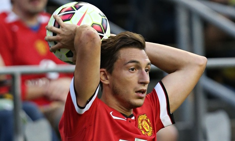 Manchester United's Matteo Darmian: a player without fear who hates tattoos