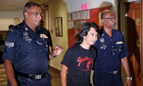 Malaysia Adam Adli arrest