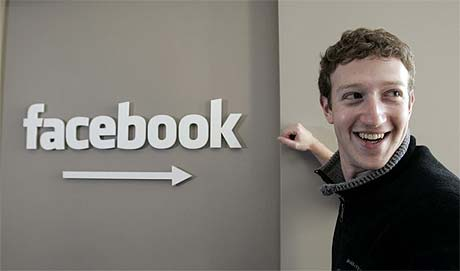 Image: facebook and Mark zuckerberg