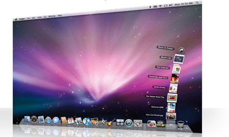 Mac OS X Leopard - screenshot