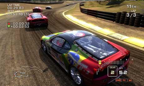 Ferrari Challenge game