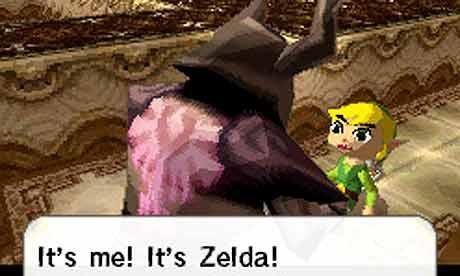 Legend Zelda Spirit