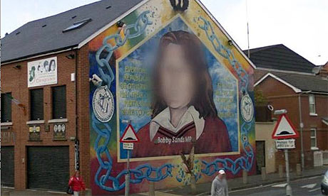 Bobby Sands blurred
