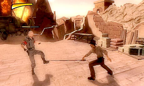 game review indiana jones and the staff of kings for wii