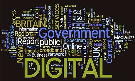 Digital Britain Wordle