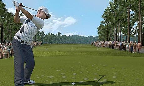 tiger woods swinging. Tiger Woods PGA Tour 10